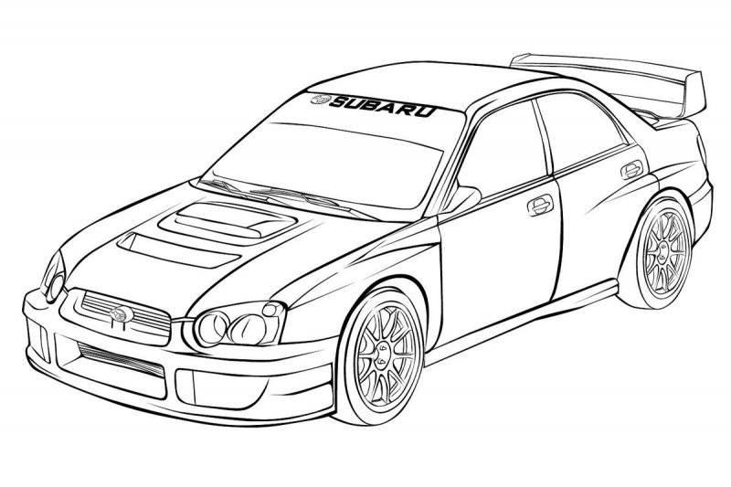 Desene Cu Automobile De Colorat Planșe și Imagini De