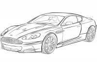 Desene cu automobile de colorat, planșe și imagini de colorat cu automobile