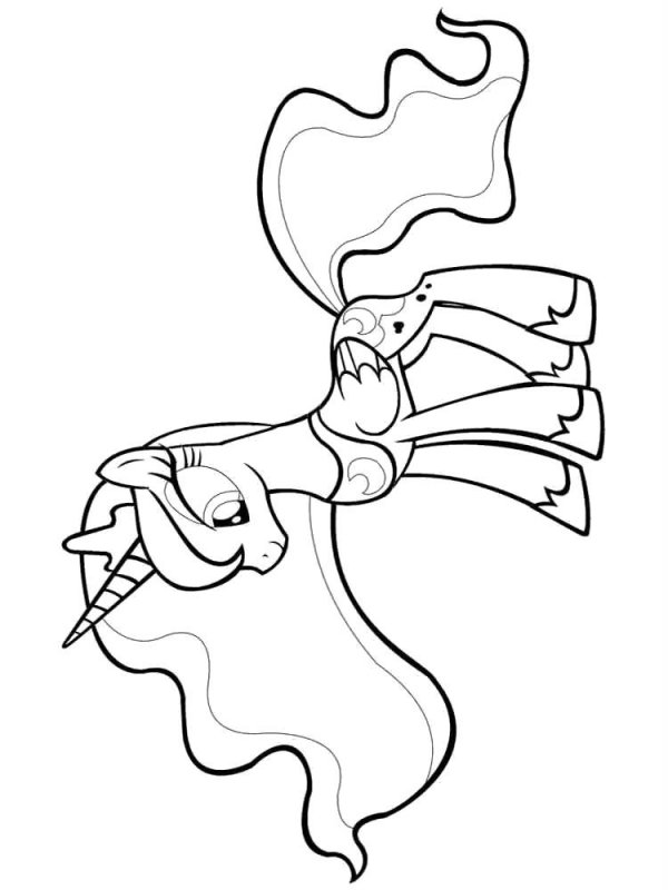Desene Cu Micul Meu Ponei De Colorat Planșe și Imagini De