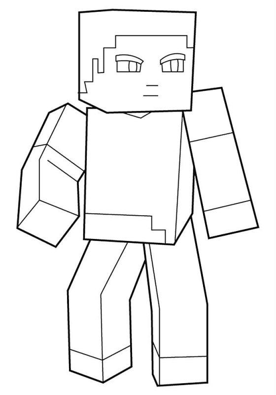 Desene Cu Minecraft De Colorat Imagini și Planșe De Colorat