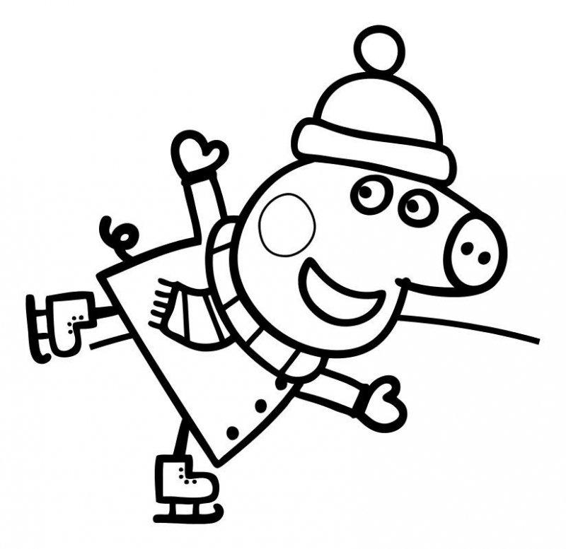 Desene Cu Peppa Pig De Colorat, Imagini și Planșe De