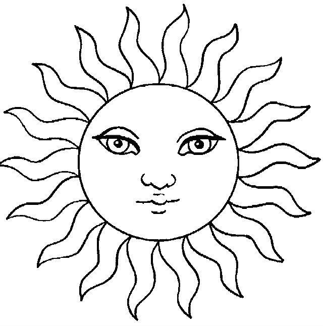 Desene Cu Soare De Colorat Imagini și Planșe De Colorat