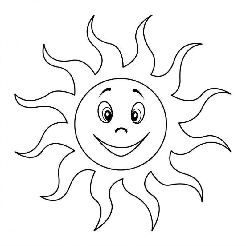 Desene Cu Soare De Colorat, Imagini și Planșe De Colorat