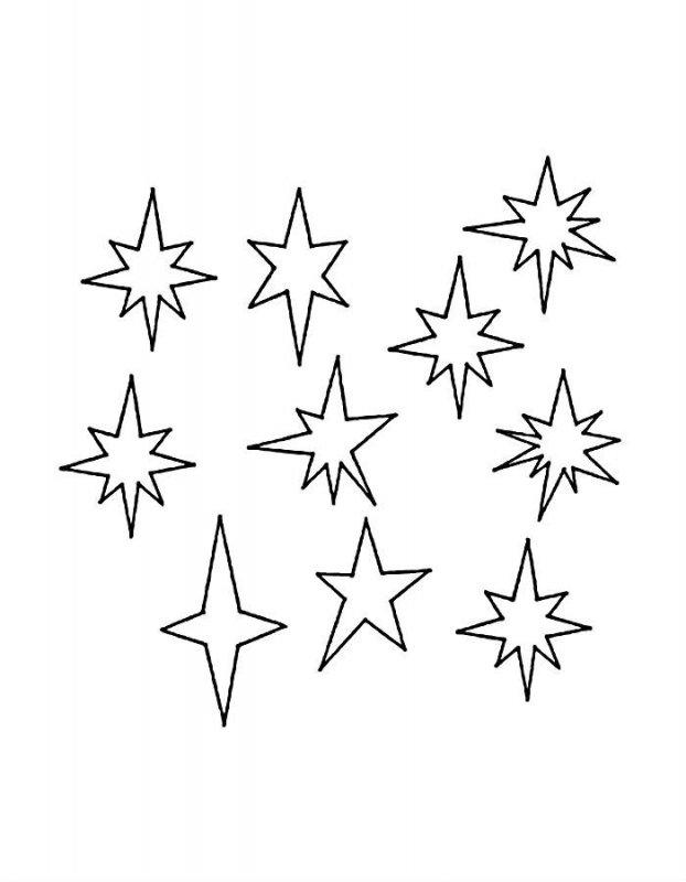 Desene Cu Stele De Colorat Imagini și Planșe De Colorat Cu