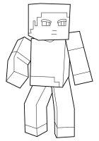 Desene cu Minecraft de colorat, imagini și planșe de colorat cu Minecraft