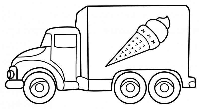 Desene Cu Masini Mari De Colorat Imagini și Planșe De
