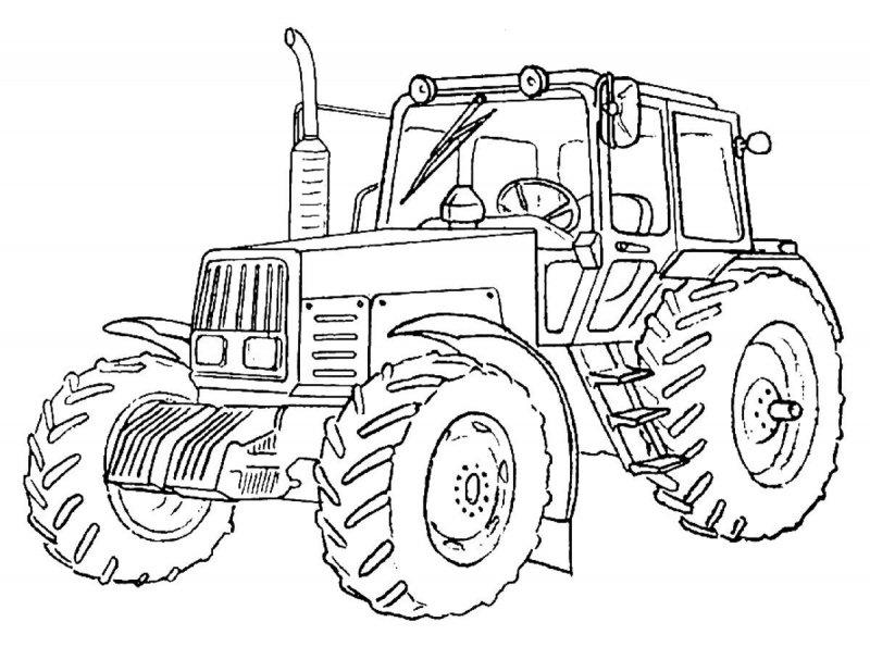 Desene Cu Tractoare De Colorat Imagini și Planșe De Colorat