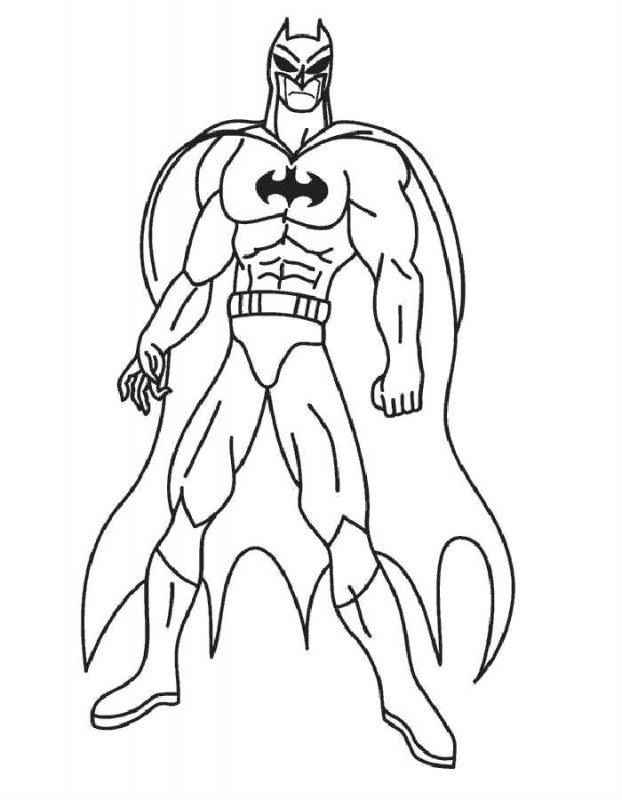 Desene Cu Supereroi De Colorat Imagini și Planșe De Colorat