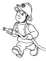 Desene cu Pompieri de colorat, imagini și planșe de colorat cu pompieri in acțiune