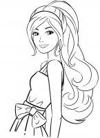 Desene cu Fete de colorat, imagini și planșe de colorat cu fete