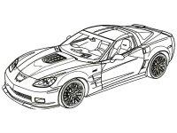Desene cu Masini Sportive de colorat, imagini și planșe de colorat cu masini sportive