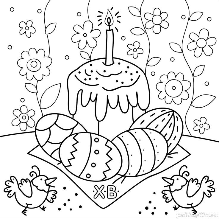 Desene Cu Paște De Colorat Imagini și Planșe De Colorat Cu