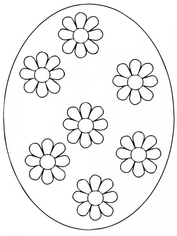 Desene Cu Ouă De Paști De Colorat Imagini și Planșe De