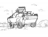Desene cu Echipament militar de colorat, imagini și planșe de colorat cu echipament militar
