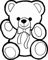 Desene cu Ursuleti de colorat, imagini și planșe de colorat cu ursuleti