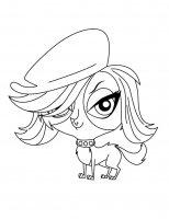 Desene cu My little pet shop de colorat, imagini și planșe de colorat cu My little pet shop
