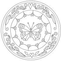 Desene cu Farfurii decorative de colorat, imagini și planșe de colorat cu Farfurii ornamentate