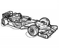 Desene cu Masini de Curse de colorat, imagini și planșe de colorat cu Masini de curse
