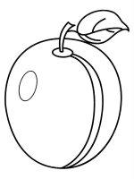 Desene cu Prune de colorat, imagini și planșe de colorat cu Prune