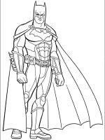 Desene cu Batman de colorat, imagini și planșe de colorat cu Batman
