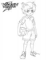 Desene cu Inazuma eleven de colorat, imagini și planșe de colorat cu Inazuma eleven