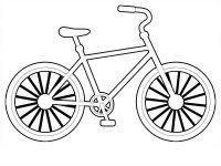 Desene cu Biciclete de colorat, imagini și planșe de colorat cu biciclete