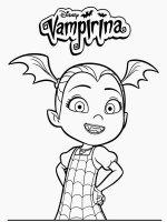 Desene cu Vampirina de colorat, imagini și planșe de colorat cu Vampirina