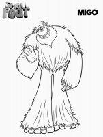 Desene cu Smallfoot de colorat, imagini și planșe de colorat cu Smallfoot