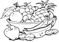 Cos cu Fructe si Legume de Toamna