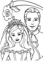 Desene cu Barbie si Ken de colorat, imagini și planșe de colorat cu Barbie si Ken