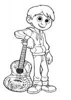 Desene cu Coco de colorat, imagini și planșe de colorat cu Coco